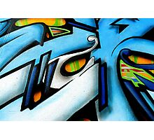 Abstract of street art Photographic Print