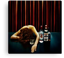 Elegantly wasted Canvas Print