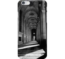 Arches in the shadows - Paris France iPhone Case/Skin