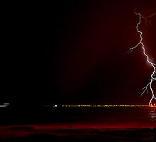 Red Bolt - Cape Town by Simon Gottschalk