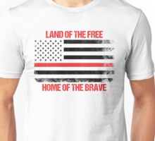 Land Of The Free, Home Of The Brave Unisex T-Shirt