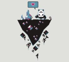 PandaC on Floating Pixel Island by knitetgantt
