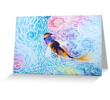 Joy in the Water Greeting Card