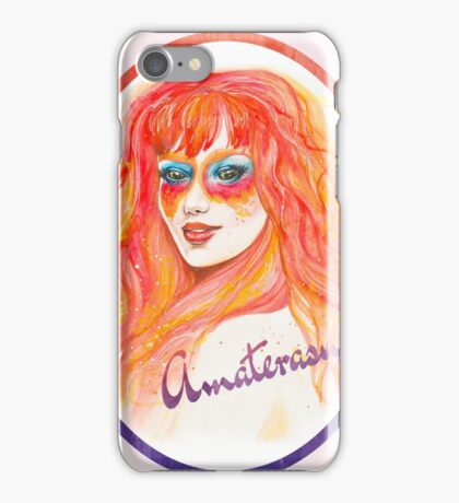 Goddess Amaterasu iPhone Case/Skin