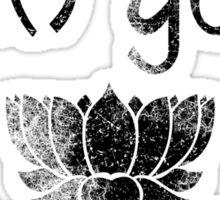 Vintage Team Yoga Lifetime Member design Sticker