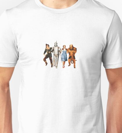 Scarecrow, Tin Man, Dorothy, and the Cowardly Lion Unisex T-Shirt