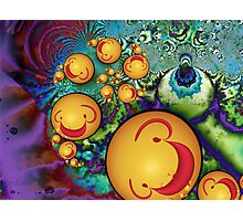Goofy Smileys Photographic Print