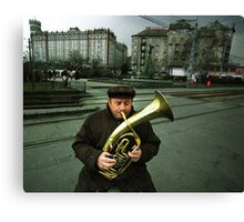 The Moscow Square Canvas Print