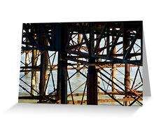 Brighton Pier, the flip side. Greeting Card