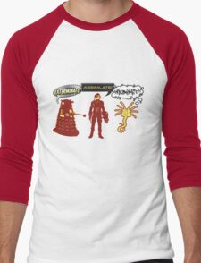 Exterminate, Assimilate, Inseminate! Men's Baseball ¾ T-Shirt