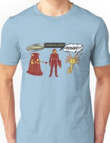 Exterminate, Assimilate, Inseminate! Unisex T-Shirt