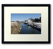 The Appel Mill Framed Print