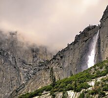 upper yosemite falls by Bruce  Dickson