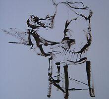On a stool by Catrin Stahl-Szarka