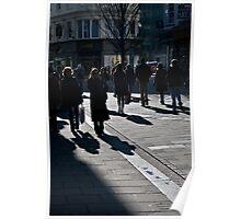 East Street in winter sunshine Poster