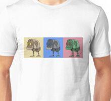 Three Little Robots Unisex T-Shirt