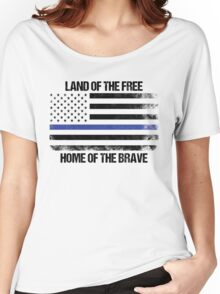 Land Of The Free, Home Of The Brave Women's Relaxed Fit T-Shirt