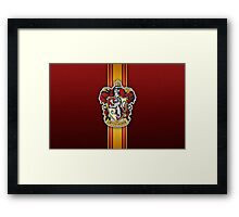 Gryffindor Ribbon Framed Print