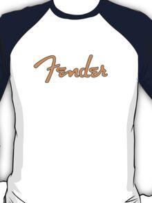 Orange  Fender T-Shirt
