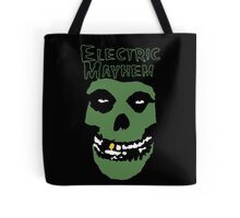 Electric Mayhem Parody Logo Tote Bag