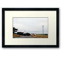Lighthouse at Fort Worden Framed Print