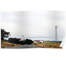 Lighthouse at Fort Worden Poster