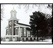 Logan Tabernacle in Winter ~ Logan, Utah Photographic Print