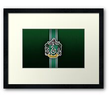 Slytherin Ribbon ver. 1 Framed Print