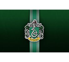 Slytherin Ribbon ver. 1 Photographic Print