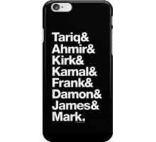 The Roots Questlove Ampersand & Helvetica Funk Getup iPhone Case/Skin