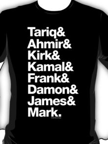 The Roots Questlove Ampersand & Helvetica Funk Getup T-Shirt