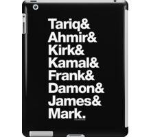 The Roots & Questlove Helvetica Ampersand Merch iPad Case/Skin