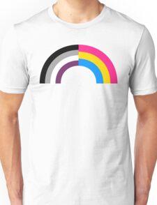 Panromantic Asexual Rainbow Unisex T-Shirt