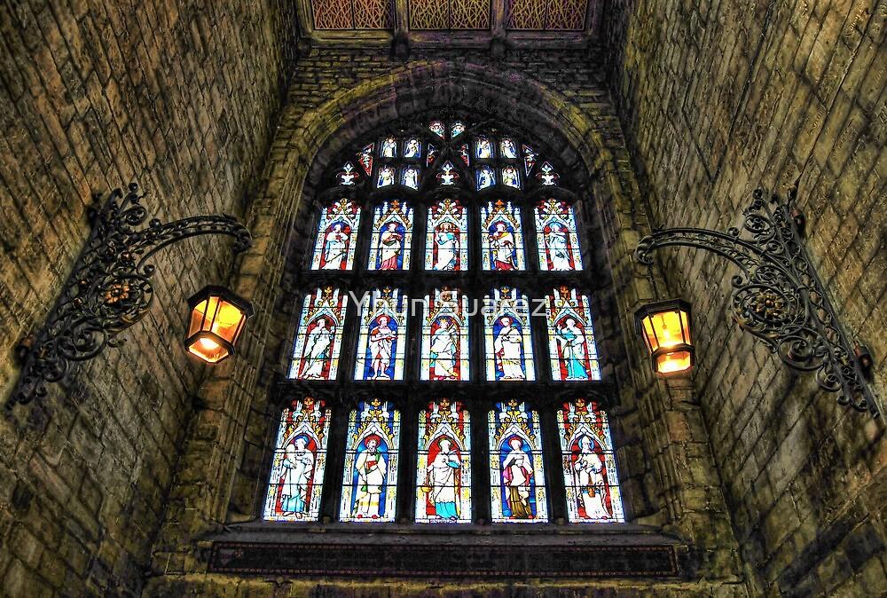 Loughborough Church Narthex Window by Yhun Suarez
