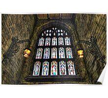 Loughborough Church Narthex Window Poster