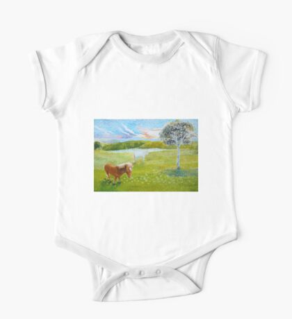 Serenity in the Field One Piece - Short Sleeve