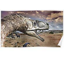 Utah Raptor Poster