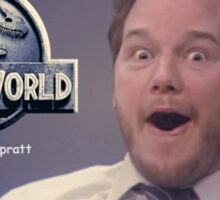 Jurasic World Chris Pratt Sticker