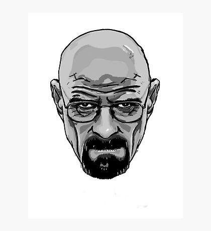 Heisenberg - Walter White - Breaking Bad Photographic Print