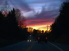SUNSET ON THE ROAD HOME by BCallahan