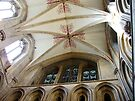 The Nave ceiling - Wells Cathedral by Kim Slater
