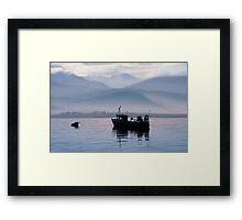 Misty Isle... Isle of Skye, Scotland. Framed Print