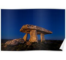 Lanyon Quoit Burial Chamber Poster