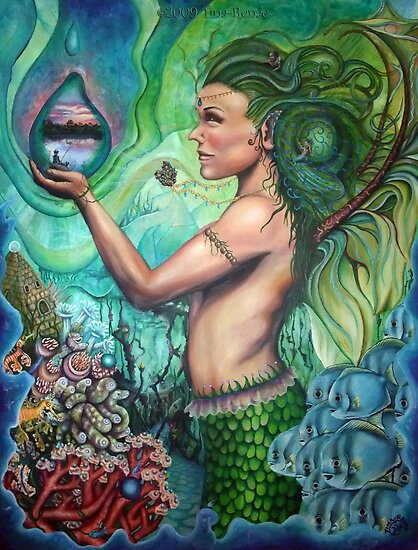 Queen of the Deep by Tina-Renae