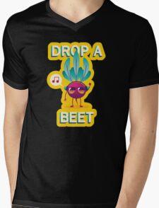 Drop A Beet Mens V-Neck T-Shirt