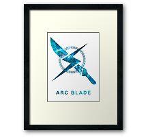 Destiny - Arc Blade Framed Print