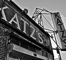 Katz's Deli by Eric  Mahoney