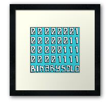 Flight of the Conchords - The Humans Are Dead - Binary Solo Framed Print