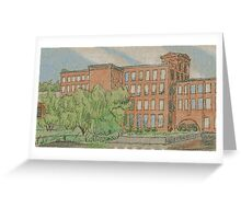Mousam River Mill Greeting Card