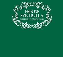 House Syndulla (white text) Womens Fitted T-Shirt